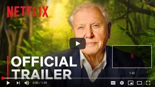 With it comes a powerful message of hope for future generations as Attenborough reveals the solutions to help save our planet from disaster.